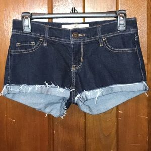 Hollister Lowrise Short Shorts Size 0 W24